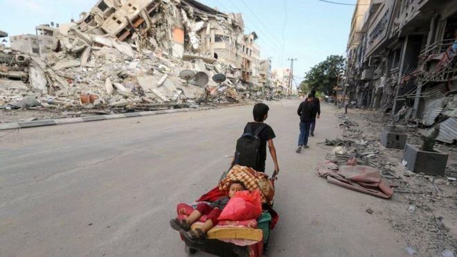 """تم إرسال المبعوث الأمريكي هادي عمرو إلى المنطقة لحث الجانبين على """"العمل من أجل تهدئة دائمة"""""""