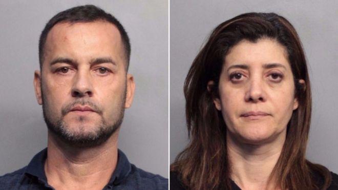 99821634 eua2 - Casal brasileiro é acusado de 'lavar' milhões de esquema que leva imigrantes de barco até a Flórida