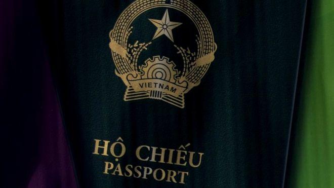 Hộ chiếu Việt Nam - hình minh họa