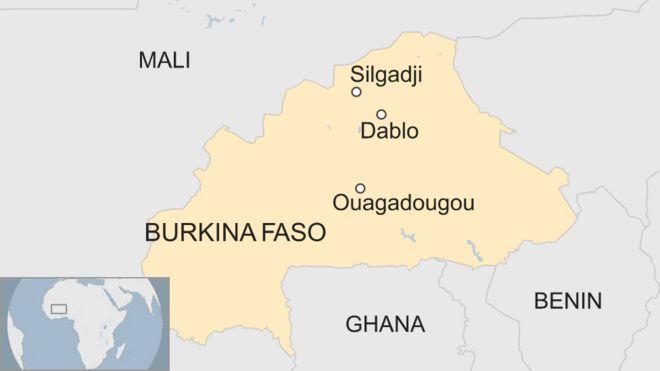 Burkina Faso church attack: Priest among six killed - BBC News