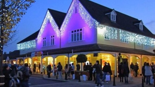 Bicester Village shopping outlet opts out of Black Friday - BBC News 87fbb6a23bd47