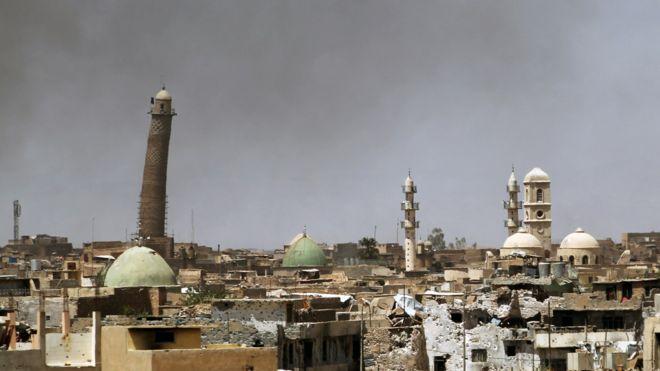 داعش مسجد جامع تاریخی موصل را 'منفجر کرد'