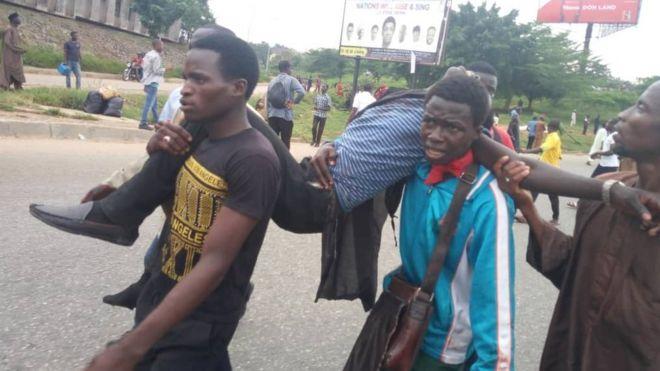 Sojoji sun sake yin artabu da 'yan Shi'a a Abuja - BBC News Hausa