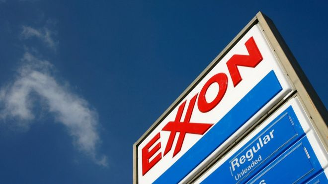 Exxon Mobil faces 'change or die' moment on climate - BBC News