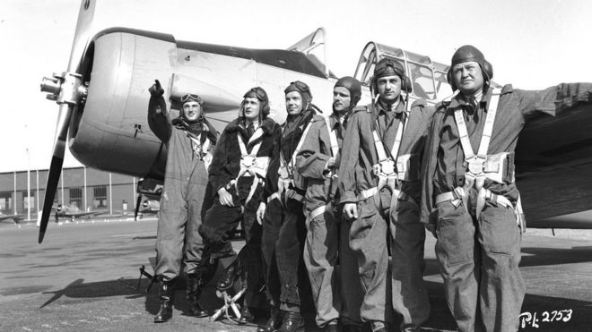 Wartime Poem High Flight Remembered 75 Years On Bbc News