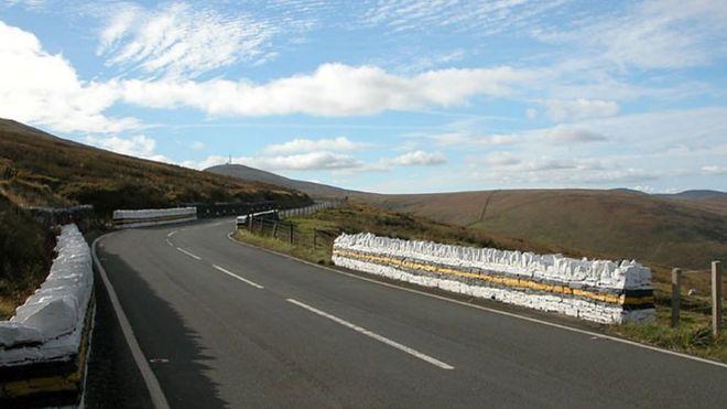 biker killed in isle of man mountain road crash bbc news