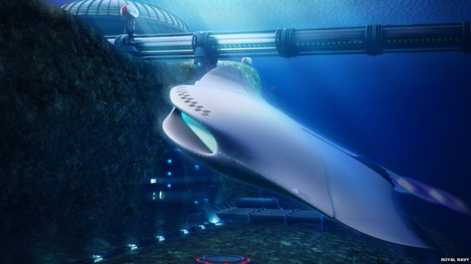 Royal Navy submarines of the future conceptualised - BBC News