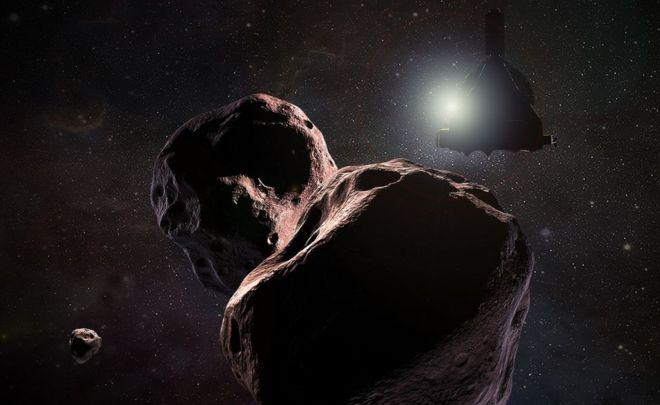 """В январе 2019 году зонд """"Новые Горизонты"""" пролетит мимо астероида 2014 MU69"""