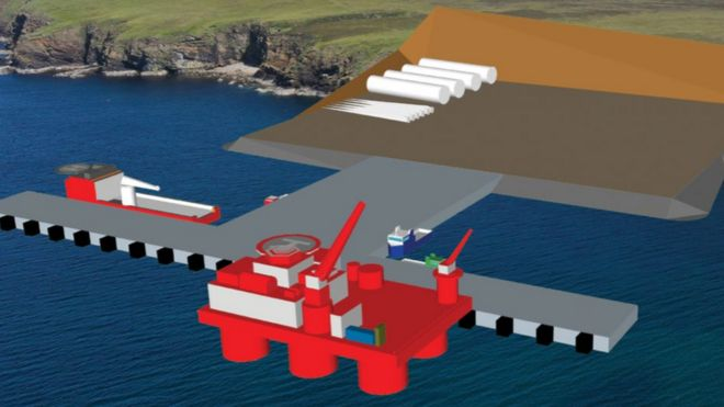 Orkney Harbours Masterplan image / Scapa Deep Water Quay