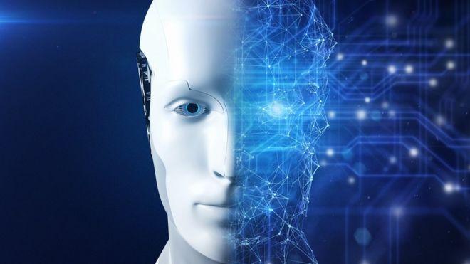Robot de IA.