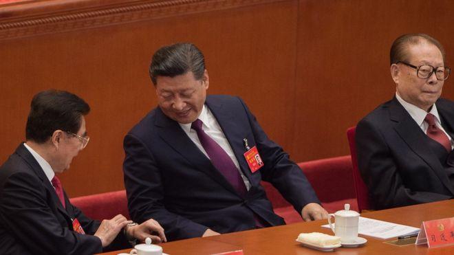 xi jinping(middle)