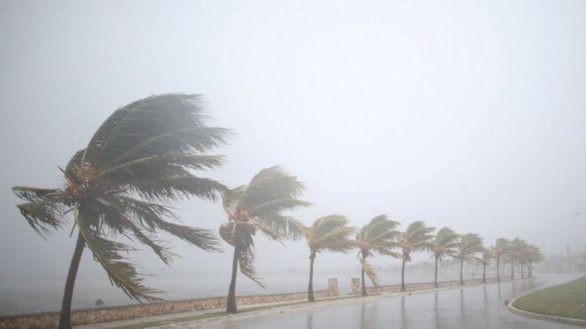 """Ураган """"Ирма"""" после севера Кубы достиг Флориду [Обновлено]"""