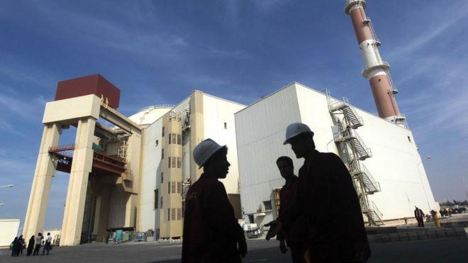 Foto de arquivo da usina nuclear de Bushehr no sul do Irã (26 de outubro de 2010)