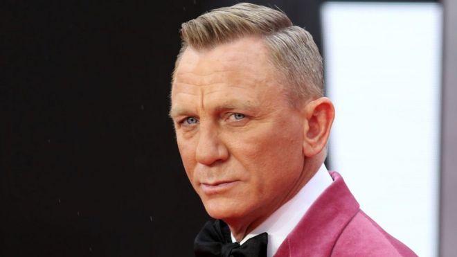 """Daniel Craig en el estreno de la película """"Sin tiempo para morir"""""""