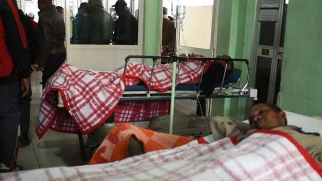 Those injured were taken to the Joseph Ravoahangy Andrianavalona hospital in Antananarivo