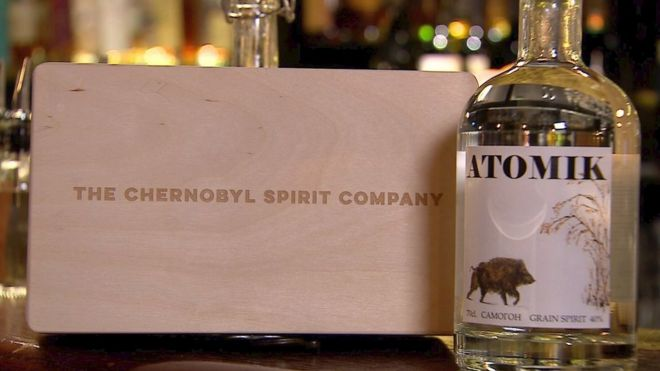 Chernobyl vodka: First consumer product made in exclusion