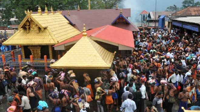 Image result for sabarimala mandir
