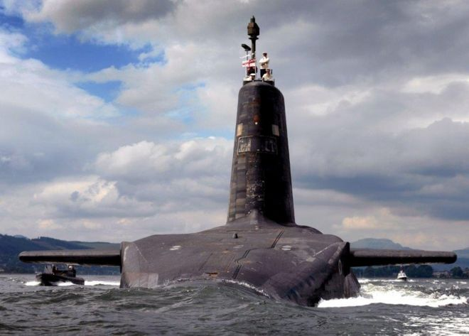 Life in Faslane: 50 years of nuclear submarines on the Clyde - BBC News