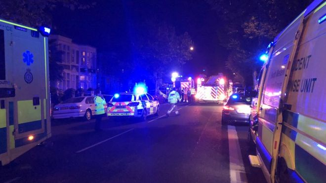 Man dies after car crashes into cement mixer in Bristol