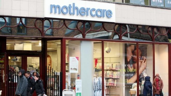 381cb3962 Mothercare to close 60 outlets - BBC News