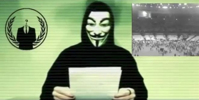 anonymous takes on is bbc news