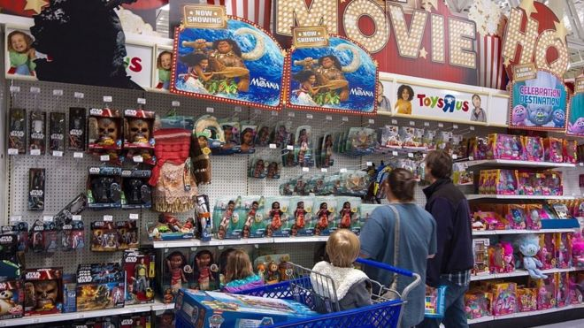 toys r us files for bankruptcy protection in us bbc news