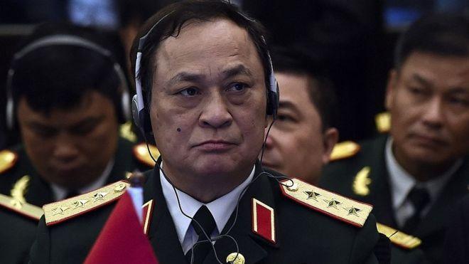 Đô đốc Nguyễn Văn Hiến, nguyên Ủy viên Trung ương Đảng, nguyên Thứ trưởng Bộ Quốc phòng