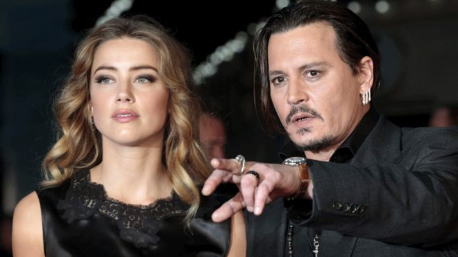 Johnny Depp Now Claims Amber Heard 'Painted on' Her Bruises