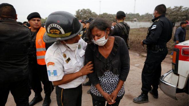 Gunung Berapi Fuego Aparat Guatemala Intensifkan Pencarian Bbc