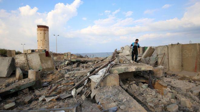 İsrail 'Filistin'den roket atıldığı' iddialarına karşılık Gazze Şeridi'ne hava operasyonu düzenledi