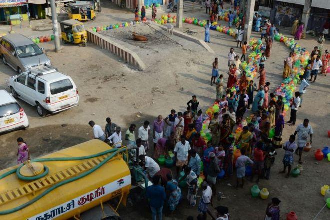சென்னை தண்ணீர் பஞ்சம்