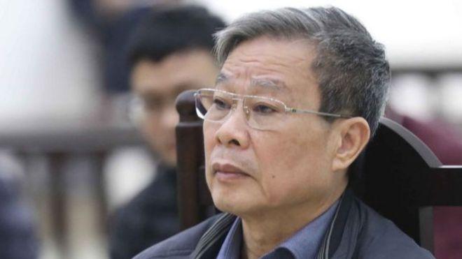 Ông Nguyễn Bắc Son tại phiên tòa