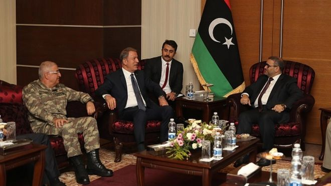 Libya ile imzalanan güvenlik ve askeri iş birliği anlaşması TBMM'de