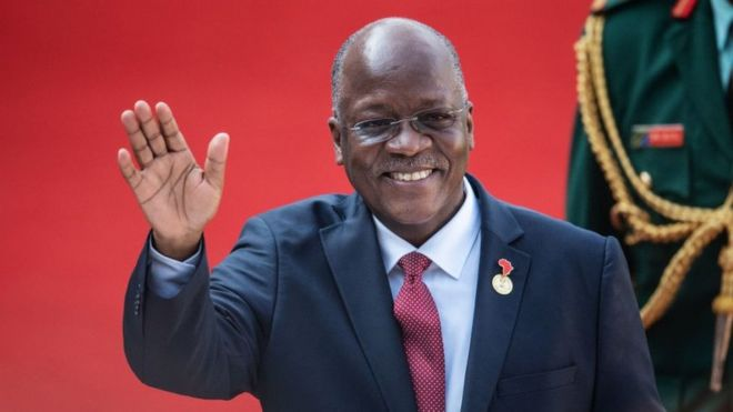 Image result for President John Magufuli of Tanzania