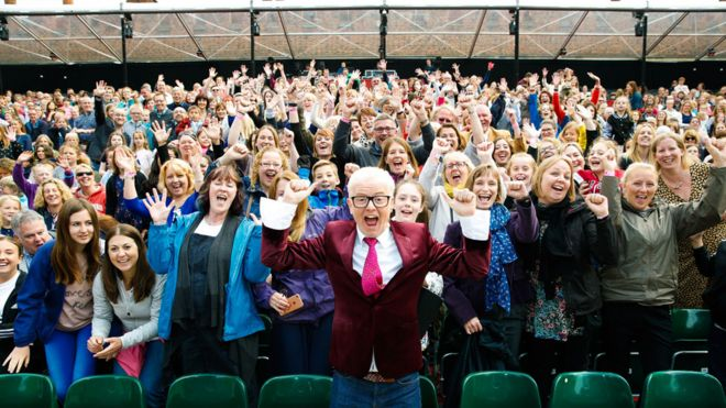 Poo fairy story among 500 words winners bbc news chris evans with the 500 words audience voltagebd Choice Image