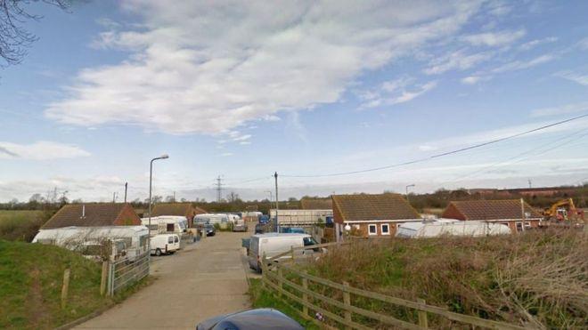 48177b51ba20f U-turn  for planned Milton Keynes traveller sites - BBC News