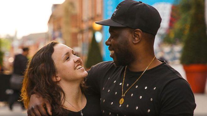 مازال الزواج المختلط اوضح الأعراق يثير الانتباه