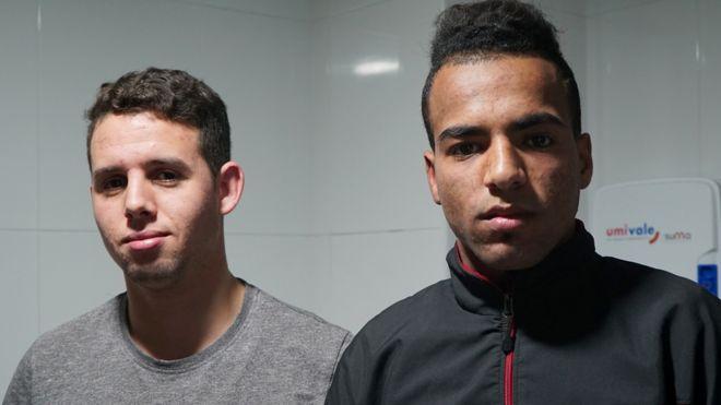 Rachid y Abdelkader.