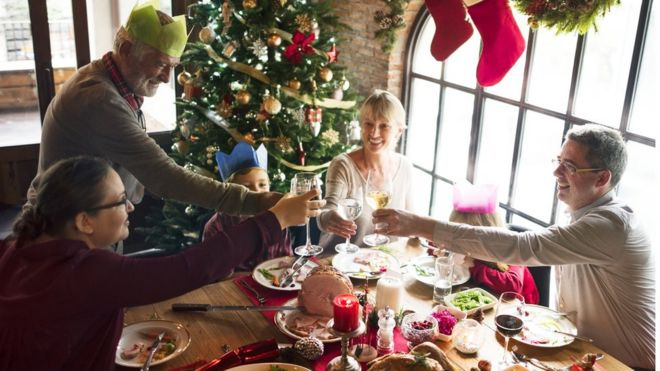 Family Christmas.Is It Ever Ok To Charge Family For Christmas Lunch Bbc News