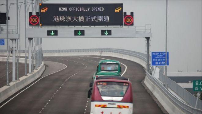 Các nhà chức trách không trông đợi một lượng xe lưu thông lớn vào ngày thông xe đầu tiên
