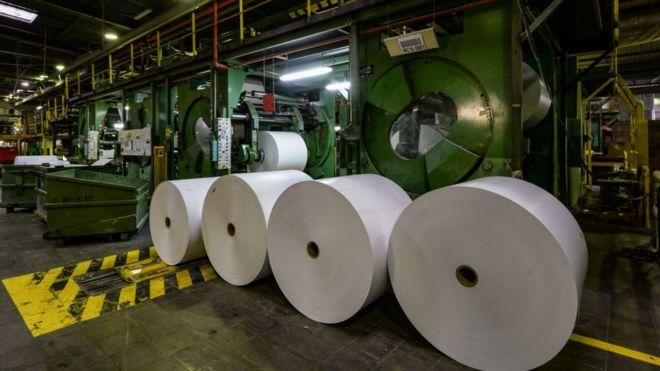 مصنع ورق