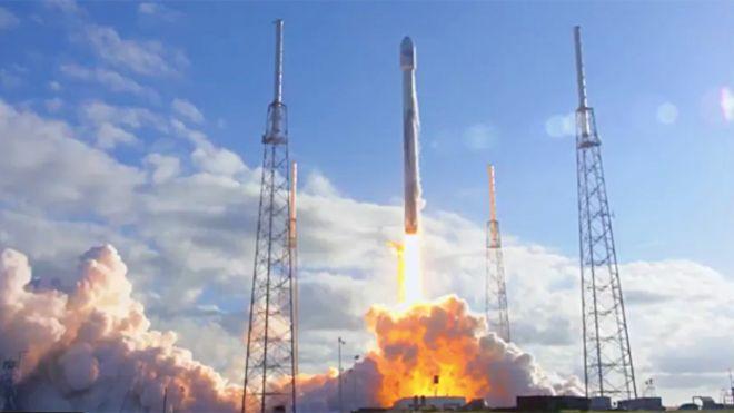 Falcon-9 launch