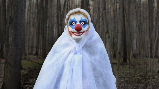 7830435c14d Police Scotland issue warning over 'killer clown' craze - BBC News