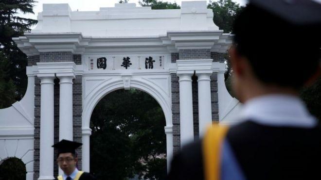 Formandos na Universidade Tsinghua, na China, em junho