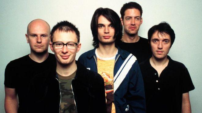 Radiohead en 1997