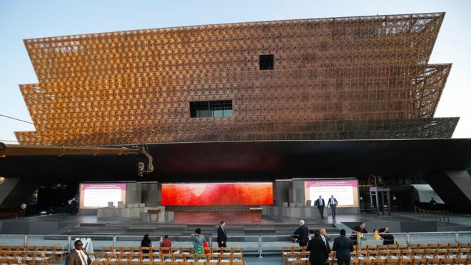 Obama Opens African American Museum In Washington Dc Bbc News