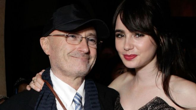 Lily Collins: Phil Collins was...