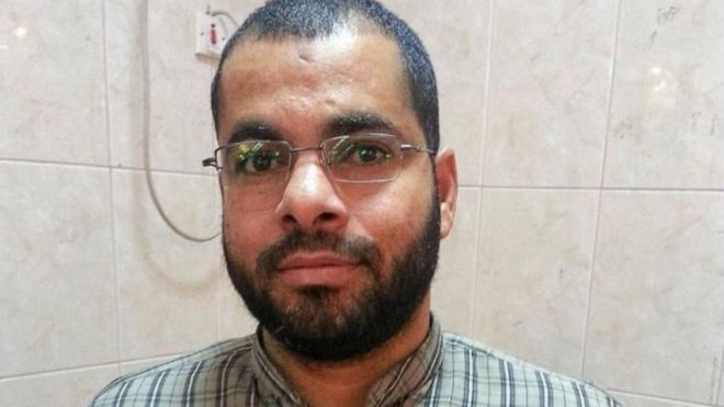 """حسين بركات هو أحد المعتقلين والمحكومين بالمؤبد منذ عام 2018 في إطار ما يعرف بقضية """"كتائب ذو الفقار"""""""