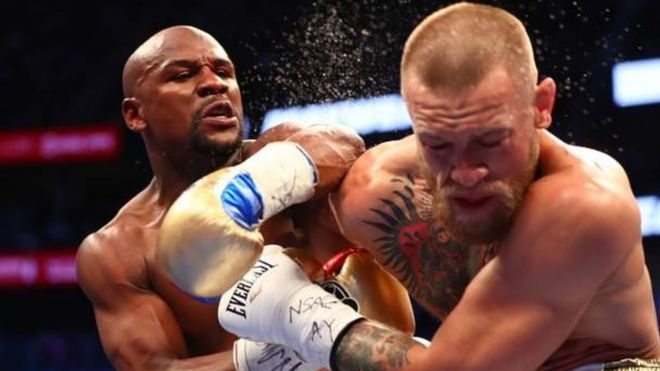 floyd mayweather regains title as world s top earning athlete bbc news