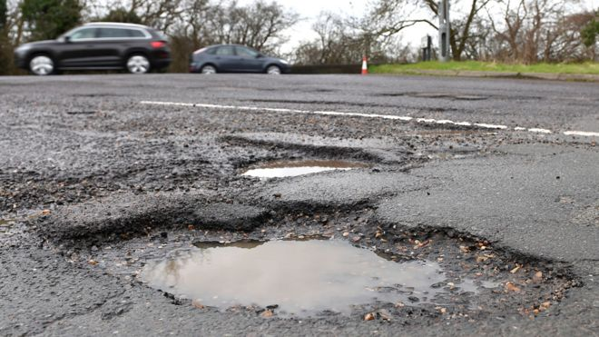 Councils fixed more potholes as budgets grew…….